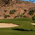 Taba Heights Golf Resort Hole 10 Par 5 by Helen Shippey