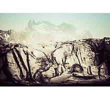 At the Glacier Photographic Print