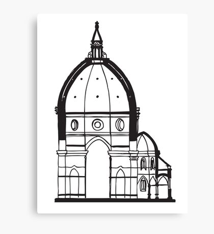 Duomo Cathedral Florence Canvas Print