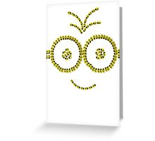 Yellow's SMILE Greeting Card