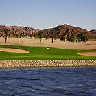 Taba Heights Golf Resort Hole 3 Par 3 by Helen Shippey