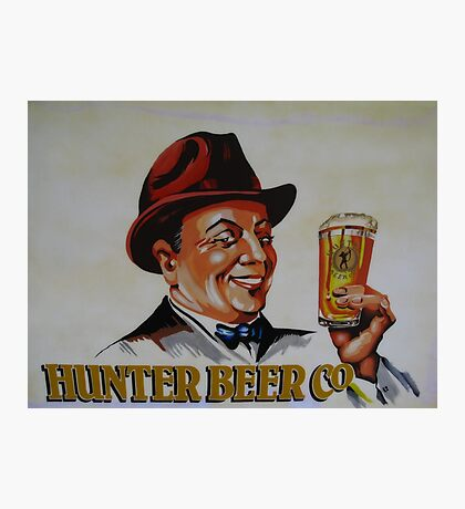 Hunter Beer Co. Photographic Print
