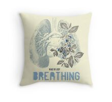 Romantic Ecology Throw Pillow