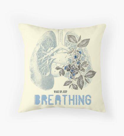 Romantic Ecology Throw Pillow