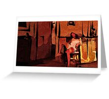 PORTRAIT OF A TEENAGER ... Greeting Card