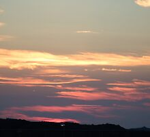 Sunset overlooking Lelant  by Deb Vincent