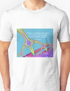 Standing on the Shoulders of Giants Unisex T-Shirt