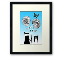 Paper Flowers  Framed Print