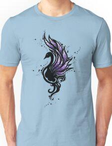 Tribal Black Swan Unisex T-Shirt