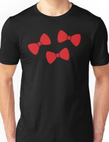 Red Bows Pattern Unisex T-Shirt