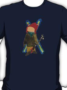 Toddies Winter Snow Days Toddler Skier Boarder T-Shirt