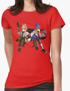 Fox and Falco Womens Fitted T-Shirt