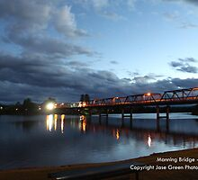 Manning River Bridge - Twilight by Jason Allan
