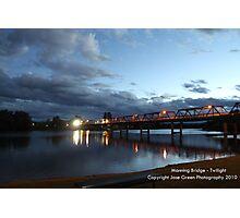 Manning River Bridge - Twilight Photographic Print