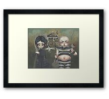 Bread crumbs Framed Print