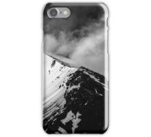 Cloudy Mountains I iPhone Case/Skin