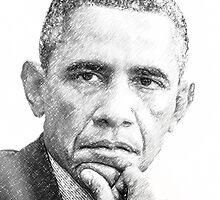Barack Obama by Mikhail Palinchak
