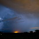 Lightning Storm  Over Rockhampton by Andrew Bodycoat