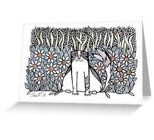 Between daisies Greeting Card