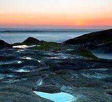 Anna Bay Sunset by bazcelt