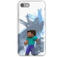Minecraft Steve- Watercolor iPhone Case/Skin