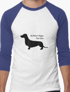 Sausage Dog/ Weiner dog funny T-Shirt Men's Baseball ¾ T-Shirt