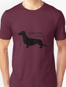 Sausage Dog/ Weiner dog funny T-Shirt Unisex T-Shirt