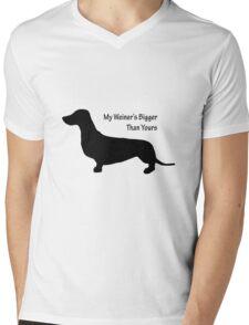 Sausage Dog/ Weiner dog funny T-Shirt Mens V-Neck T-Shirt