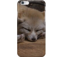 Sleeping safe and sound iPhone Case/Skin