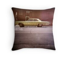 serendipity - Holga double exposure Throw Pillow
