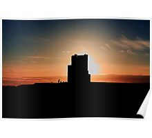 Brien's Tower At Sunset Poster