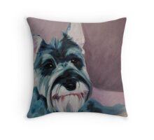 Oil on canvas - Bertie Throw Pillow