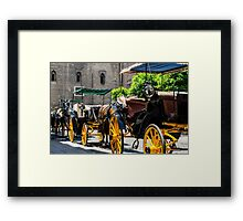 Streets of Sevilla - Spain  Framed Print