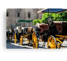 Streets of Sevilla - Spain  Canvas Print