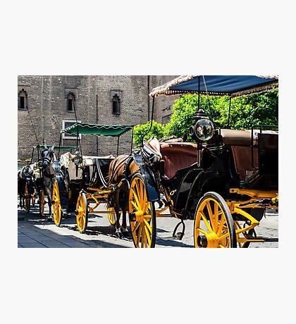Streets of Sevilla - Spain  Photographic Print