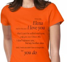 Delena  Womens Fitted T-Shirt
