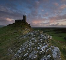 St Michaels Mount Church, Dartmoor, England by Andy Kilmartin