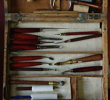 Etching tools by ROSEMARY EAGLE