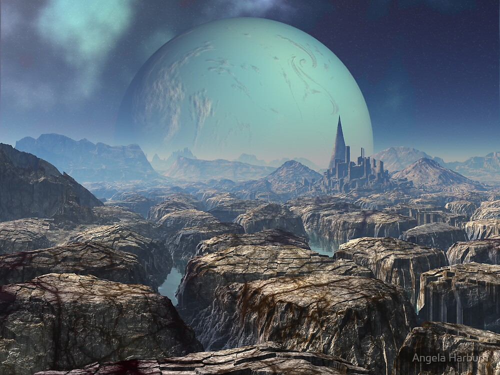 The Ruins of Xzavia by SpinningAngel