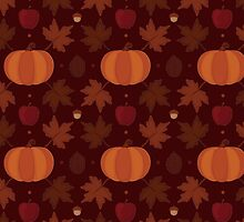 Autumn Pattern by mcoraci