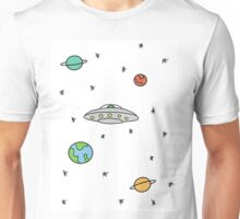 Space; The Final Frontier  Unisex T-Shirt