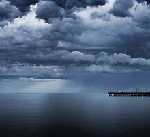 The Pier. by DaveBassett