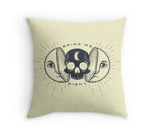 Kill the Sun, Bring Me Night Throw Pillow
