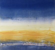 Bay Abstracted-Geelong by ROSEMARY EAGLE