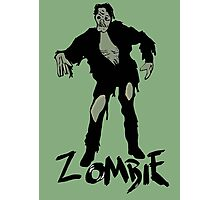 Zombie Photographic Print