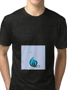 Agua respirando Tri-blend T-Shirt