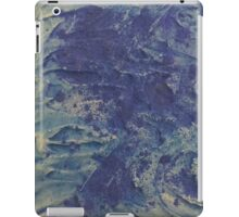 swirling waves in the deep sea iPad Case/Skin