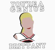 You're a genius, Britt. Baby Tee