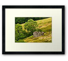 Dentdale Barn Framed Print
