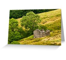 Dentdale Barn Greeting Card